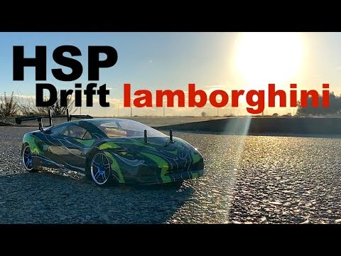HSP Drift Car Flying Fish RTR 4WD Test And Unboxing