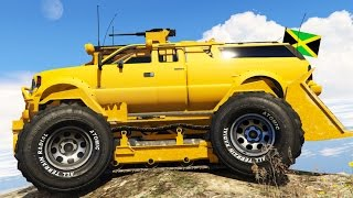 BULLDOZER MONSTER TRUCK MOD! | GTA 5 PC Mods