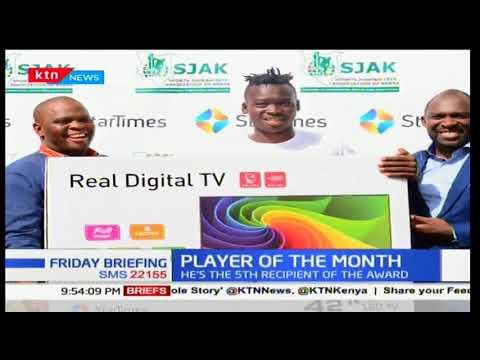 Kenyan American based Ishmael Changawa wins November sports personality award