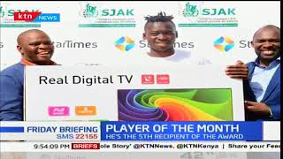 Kenyan American based Ishmael Changawa wins November sports personality award