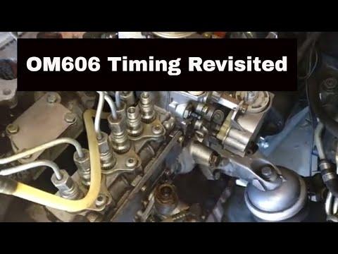 OM606 PUMP FITTING WITH BASIC TOOLS - DieselPumpUK - Video - 4Gswap org