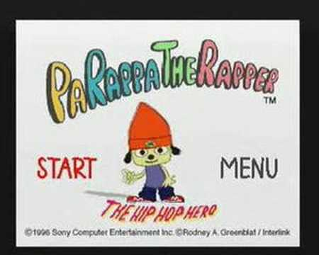 parappa the rapper playstation all stars