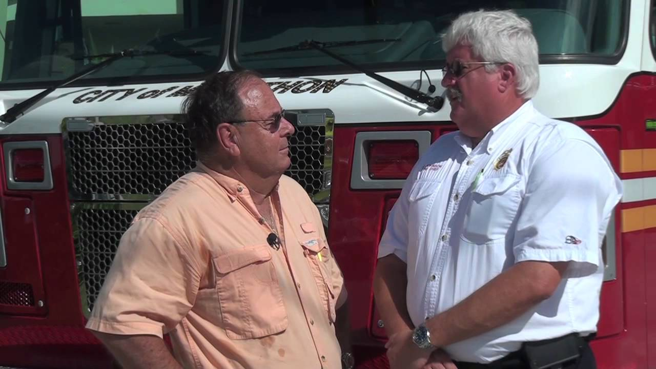 Fire Chief John Johnson