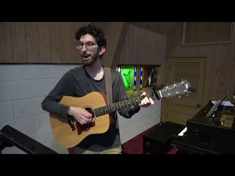 """Performed on 4/9/2020 for online church at Elmwood West UMC. Cover of the song """"Psalm 42 (Satisfied in You)"""" by The Sing Team."""
