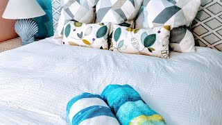 Ofelia Vass King Duvet Cover: Unboxing, First Impressions, How-To, Finished Product