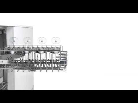 Bosch Freestanding 60 Cm Dishwasher SMS25EW00G - White Video 4