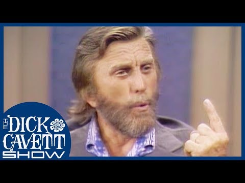 Kirk Douglas Doesn't See Eye-To-Eye With John Wayne | The Dick Cavett Show