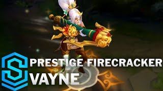 Prestige Firecracker Vayne Skin Spotlight - Pre-Release - League of Legends