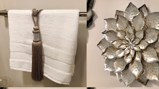 Small Bathroom Decorating Ideas #bathroomdecorating #sparklelove