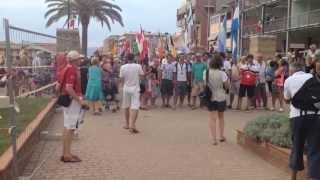 preview picture of video 'Sfilata inaugurale Mondiali di Vela Marina di Grosseto 2013'