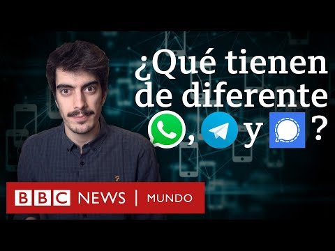 Estas Son Las Diferencias Entre WhatsApp, Telegram y Signal