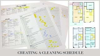 CLEAN WITH ME | CREATE A CLEANING SCHEDULE | CREATING ZONES