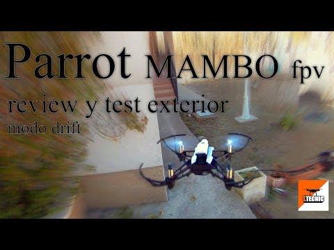 parrot-mambo-fpv-review-español-y-test-mode-dridf-en-exterior