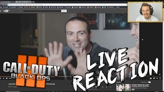 """Black Ops 3 - """"ZOMBIE CHRONICLES"""" REVEAL! *REACTION*"""