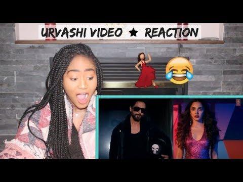 Urvashi Video | Shahid Kapoor | Kiara Advani | Yo Yo Honey Singh | REACTION