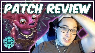 Swim Reviews the 1.2 Patch [Artifact Patch Analysis]
