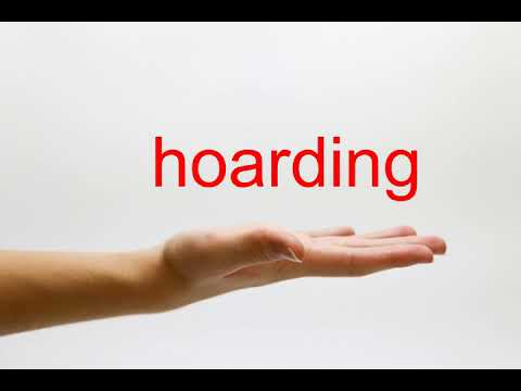 How to Pronounce hoarding - American English