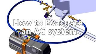 How to Evacuate an AC system, Full Vacuum Procedure