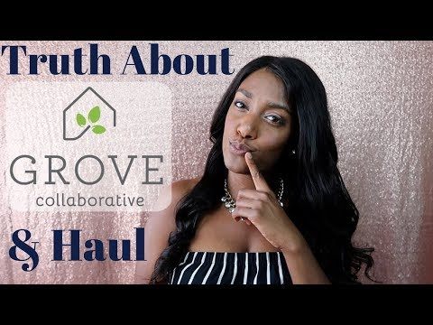 Grove Collaborative Review & Huge Haul / Best Natural Cleaning Products
