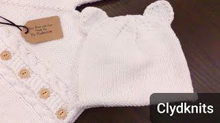 How to knit Bear Ear , Knit Cat Ear   Knit Ears On Cap & Headband With Written Instructions