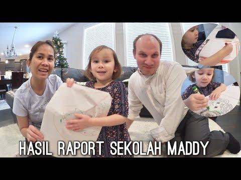 HASIL RAPORT MADDY | ANAK BULE RAJIN BELAJAR | KOSMETIK FOCALLURE @DREAMZSHOP_BEAUTY