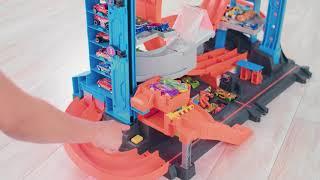 Гараж з акулою Mattel Hot Wheels (FTB69) від компанії Інтернет-магазин EconomPokupka - відео
