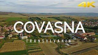 Covasna drone - Transylvania - Romania
