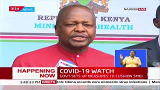 CS Mutahi Kagwe: I urge Kenyans to uphold safety, eateries to continue operating