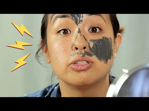 People Try Magnetic Face Masks