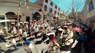 preview picture of video 'Fiesta de San Roque con Los Chunchos Tarija Bolivia 2014 GOPRO'