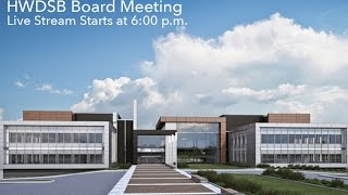Live Stream – HWDSB Board Meeting