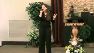"Feb  8, 2015 Asha Lightbearer singing ""Good Life"" by Mike Orlin"
