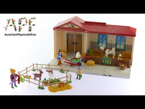 Vidéo PLAYMOBIL Country 4897 : Ferme transportable