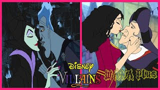 💕 Disney Villain Couples In Love 💕 WANA Plus
