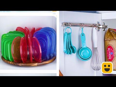 Hayatınızı Kolaylaştıracak ve Mutfağınızı Düzene Sokacak Pratik Yöntemler
