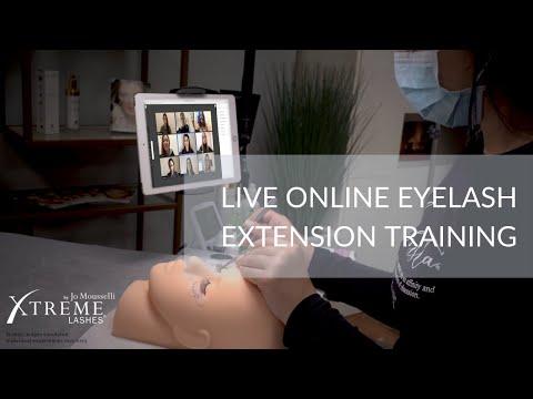 Xtreme LIVE Online™ Eyelash Extension Certification Training ...