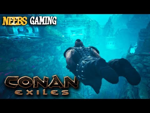 We Lost Everything at the Bottom of the Ocean - Conan Exiles