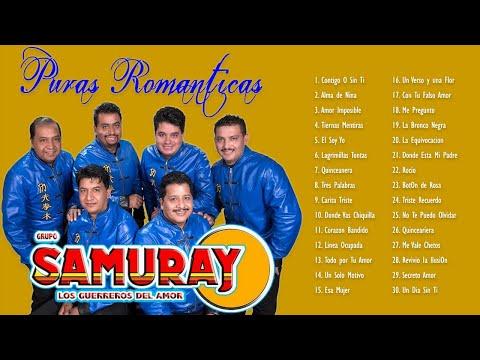 GRUPO SAMURAY VIEJITAS PERO BONITAS 90S - GRANDES EXITOS ROMANTICOS