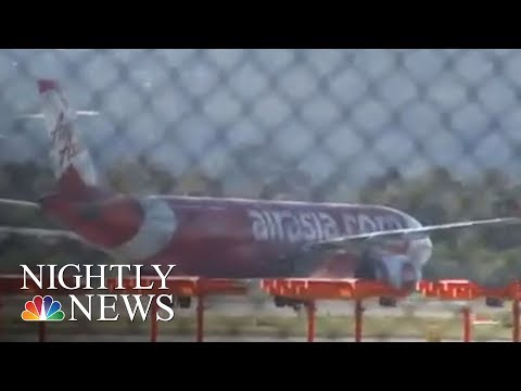Video Shows Terrifying Moments As Entire Airliner Shakes During Flight | NBC Nightly News