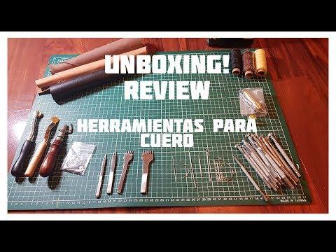 UNBOXING KIT de Herramientas para CUERO! ► REVIEW
