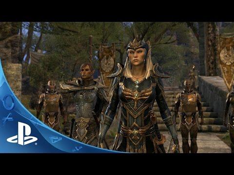 Видео № 0 из игры Elder Scrolls Online - Gold Edition [PS4]