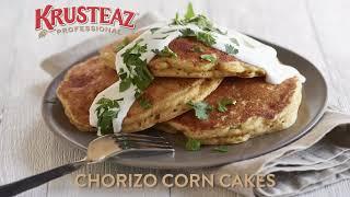 Chorizo Corn Cakes