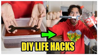 We TESTED Viral DIY Life Hacks... (you won't believe what happened)