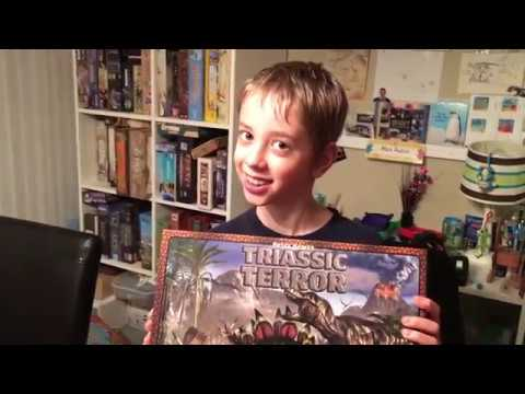 Triassic Terror Review! with Justin and Max