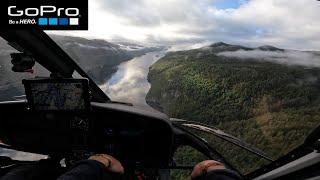 Helicopter FPV GoPro HERO 10 TEST FLIGHT