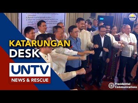 [UNTV]  Katarungan Desk, inilunsad ng PACC laban sa katiwalian sa pamahalaan