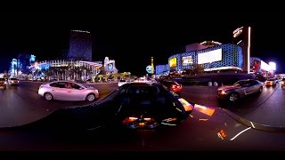 360° Video - Las Vegas at Night - 4K