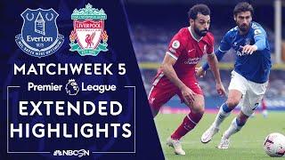 Everton v. Liverpool | PREMIER LEAGUE HIGHLIGHTS | 10/17/2020 | NBC Sports