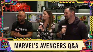 Behind the Scenes of the video game Marvel's Avengers LIVE @ SDCC 2019!