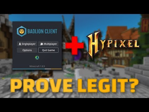 Why Badlion Client DOESN'T prove you're legit on Hypixel - 2Pi